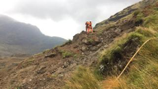 Rest and Be Thankful landslip