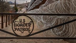 અમેરિકા- મેક્સિકો સરહદ