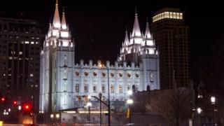 Temple of the Church of Jesus Christ of Latter-Day Saints Salt Lake City (file picture)