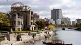 То, что осталось от здания промышленной палаты прежней, довоенной Хиросимы, - теперь символ мира, пусть и довольно устрашающий