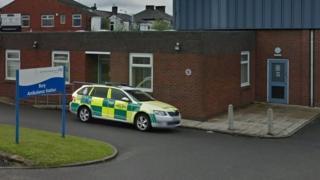 Bury Ambulance station