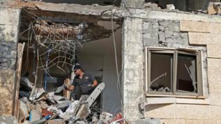 اصابت موشک یک خانه را در جنوب اسرائیل تخریب کرد