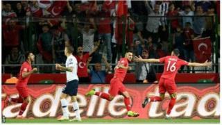 فرانسه از ترکیه شکست خورد