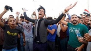 معترضان در بصره