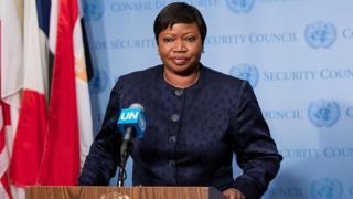 Fatou Bnsouda, face à la presse n 2016 au Conseil d sécurité de l'Onu, su la situation en Libye.