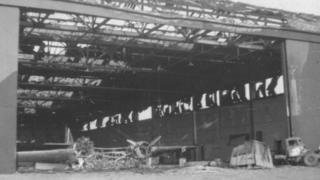 Blenheim at RAF North Weald