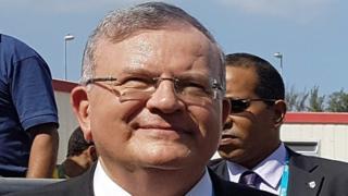 Kyriakos Amiridis, embajador de Grecia en Brasil.