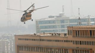 Ciidamada komandoska Afghanistan ayaa galay cisbitaalka Sardar Daud