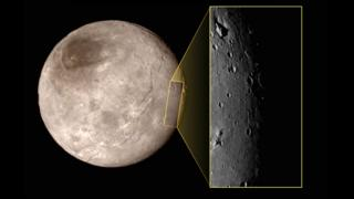Charon with new close-up photo