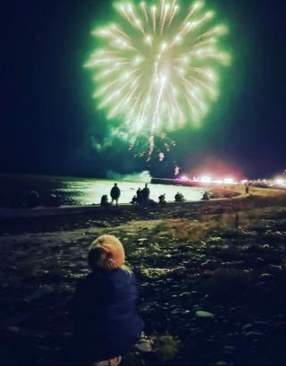 Portgordon Fireworks Display