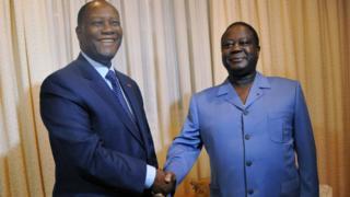 Côte d'Ivoire : Ouattara et Bédié d'accord pour le parti unifie