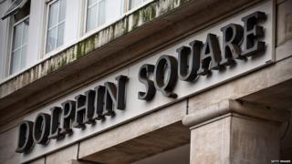 Dolphin Square sign