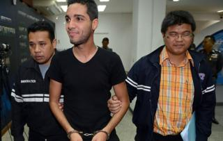 Arrest of Hamza Bendelladj