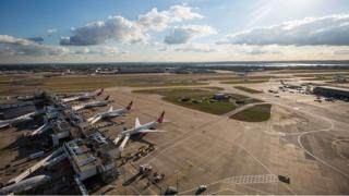 A view of Heathrow