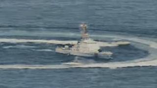نیروی دریایی آمریکا حرکت قایق های سپاه را تحریک آمیز خوانده است