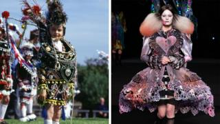 Festival of the Horse costume and Charles Jeffrey design