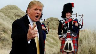 Trump in Scotland