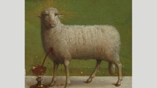 """هل هذا هو أول عمل فني يصور """"الإله الأب""""؟"""