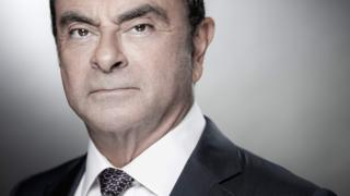 Carlos Ghosn pictured in 2018