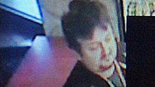 A CCTV image of Lukasz Urban