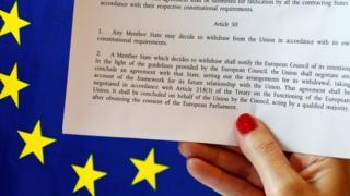 article 50 of the Lisbon treaty