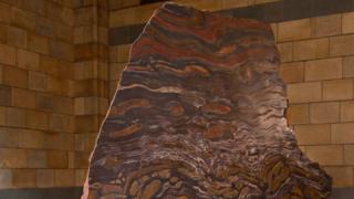 Камень, весом в две с половиной тонны будет одним из главных экспонатов в центральном зале лондонского музея естествознания.