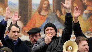 Акція протесту в Белорусі