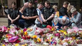 Manchester bombing tributes