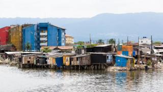 Favela em Santos (SP)
