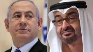 توصل محمد بن زايد وبنيامين نتنياهو إلى الاتفاق بمساعدة الولايات المتحدة