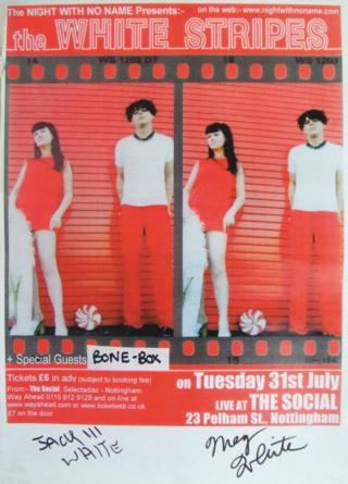 White Stripes poster