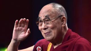 File photo taken on September 15, 2016 shows the spiritual leader of the Tibetan people, the Dalai Lama