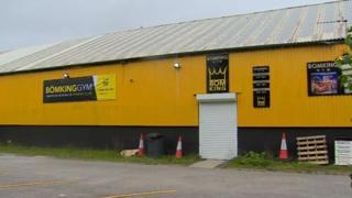 Bomking gym, Swansea