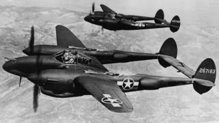P-38 Lightning aircraft