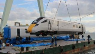 The new Japanese-made trains
