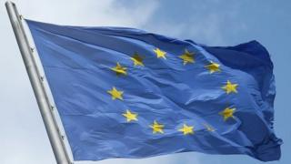 A European Union flag