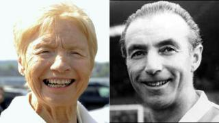 Jean Gough and Stanley Matthews