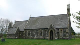 St Mary Magdelene's Church, Llanfaglan