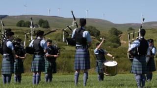 Wind farm opening