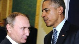 Vladmir Putin da Barack Obama