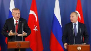 Erdoğan ve Putin basın toplantısı