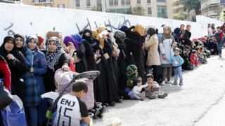 Cирийськи беженцы