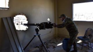 نیروهای دولتی سوریه