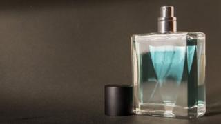 A bottle of aftershave