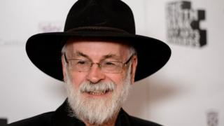 Sir Terry Pratchett in 2012