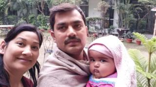 रवि शेखर और उनकी पत्नी एकता
