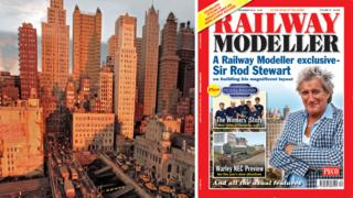 Rod Stewart model railway