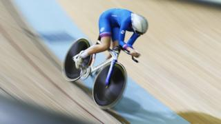 Katie Archibald of Scotland competes in the Women's 300m Individual Pursuit Qualifying at Sir Chris Hoy Velodrome during day two of the Glasgow 2014 Commonwealth Games on July 25, 2014 in Glasgow