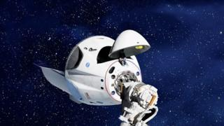 Частный космический корабль Dragon 1