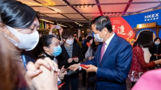 Chairman of Hong Kong exchange reopens after New Year holiday